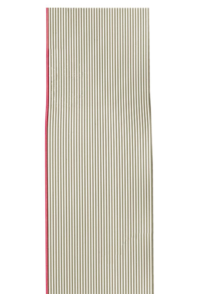 Flachbandleitung AWG 28 grau, UL 2651, 24 Adern