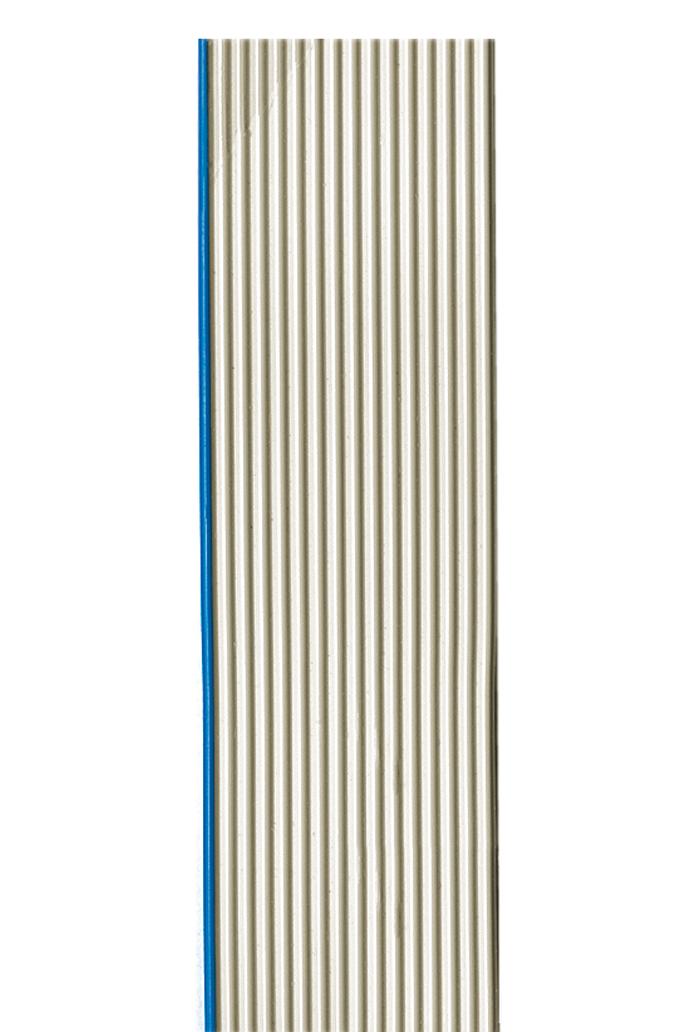 Flachbandleitung halogenfrei AWG 28, UL 21151, 10 Adern