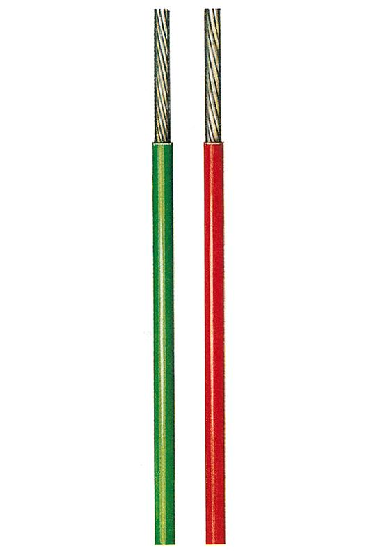 Kupferschaltlitze vernickelt  TXn 600V, 19-drähtig, 0,16mm²