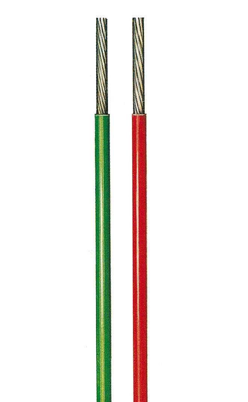 Kupferschaltlitze versilbert  TX 600V, 19-drähtig, 0,14mm²