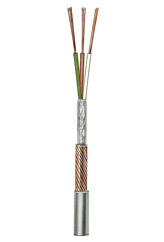 Geräteanschlussleitung/ Steuerleitung mit Gesamtabschirmung NF7 (3 x 0,11), 3 Adern