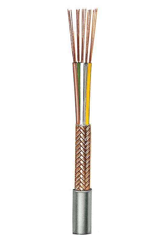 Geräteanschlussleitung/ Steuerleitung mit Gesamtabschirmung NF11 (5 x 0,14), 5 Adern