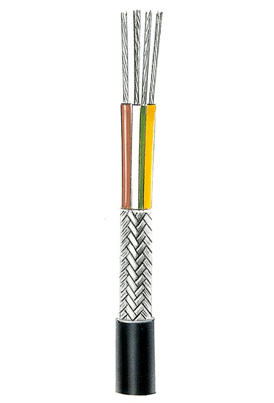 Mikrofonleitung/ Verstärkerleitung geschirmt besonders flexibel NF14 (4 x 0,5), 4 Adern