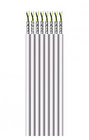 Flachbandleitung, paarig geschirmt,  8 x (LiYC 2 x 0,14)-Y flach