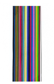 Flachbandleitung bunt verzinnt n x LiY 0,75