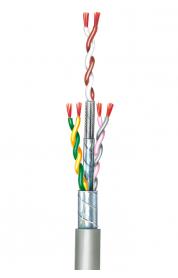 Flexible Anschlussschnüre, paarverseilt, geschirmt (Umseilung) LiY-LiY(CB)-Y 0,14