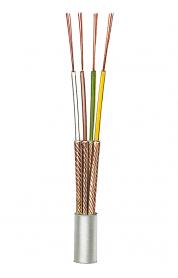 Einzeln abgeschirmte kapazitätsarme Mikrofonleitung NF6 (4 x 0,08)