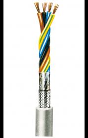 Starkstromleitung, geschirmt (N)YMHCY-J 1,5