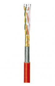 Verbindungsleitung, geschirmt, silikonisoliert ASS-paarig 0,14